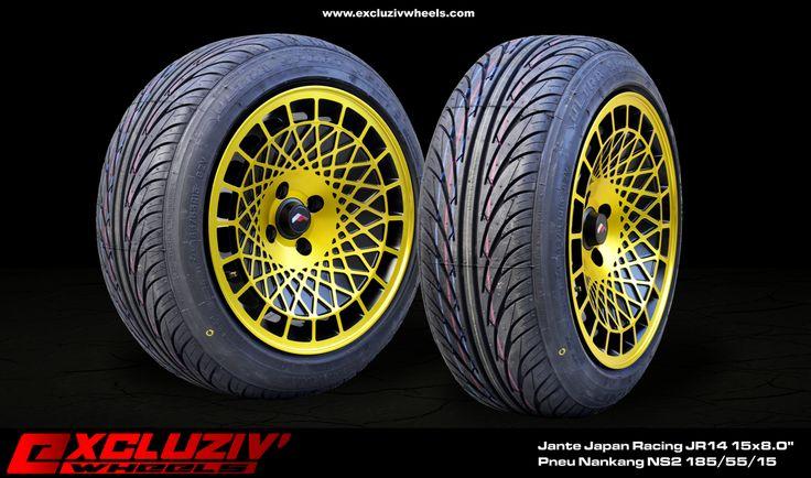 jantes japan racing jr14 15x8 0 pneus nankang ns2 185 55 15 excluziv 39 wheels jantes. Black Bedroom Furniture Sets. Home Design Ideas
