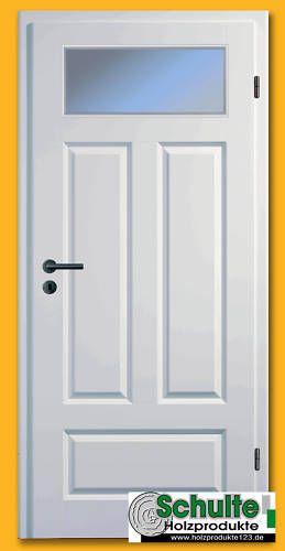 Profiltür  Sylt 4KSAD 1LA  inkl. Zarge Innentür  Weißlack in Heimwerker, Fenster, Türen & Treppen, Türen   eBay!