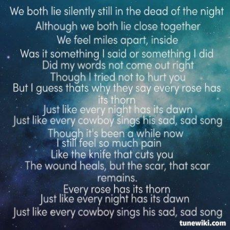 Lyrics of goodbye by miley cyrus