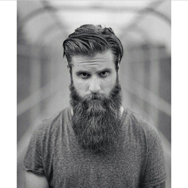 Llamas afeitadas en barba