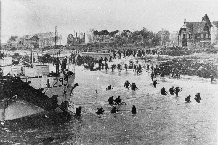 d day photos juno beach