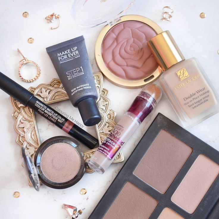 """287 Likes, 14 Comments - Rebecca🔅 (@colouringmehappy) on Instagram: """"Some favourites that I've been using recently 👌😃 the Estee Lauder Double Wear, MUFE Step 1 primer,…"""""""
