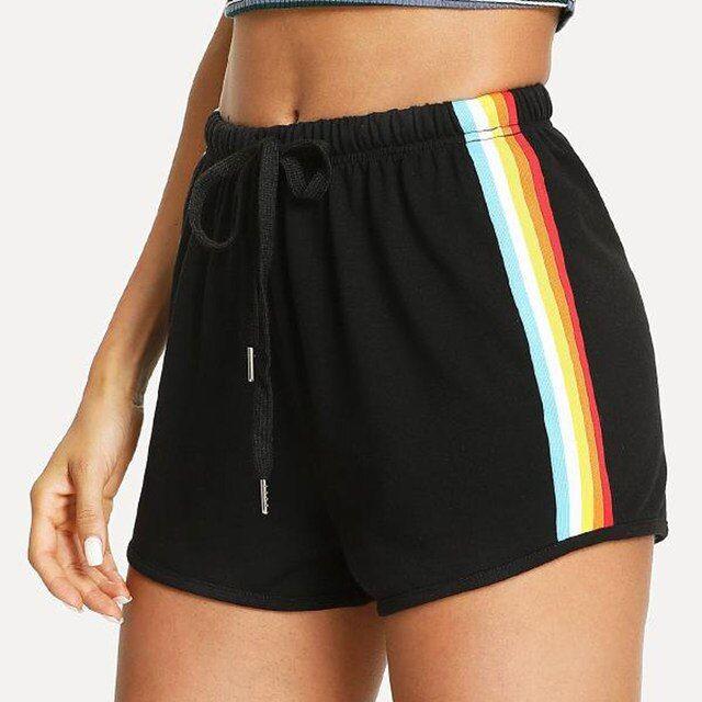 Stray I Am You Kids Womens Drawstring Elastic Hot Short Pant
