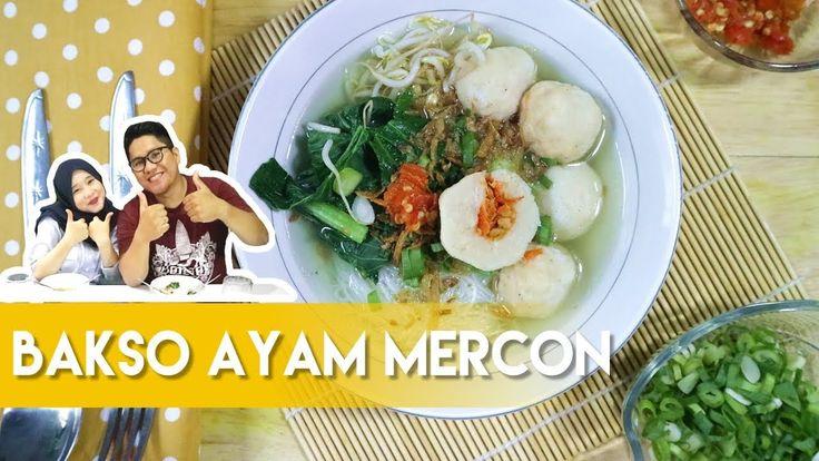 Resep Bakso Ayam Mercon ala Dapur Adis  Meatball Chicken Mercon Recipe by Dapur Adis