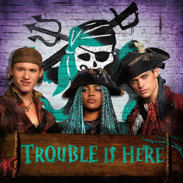 Trouble Is Here | Gil, Uma & Harry | Descendants 2 | IG: @disneydescendants