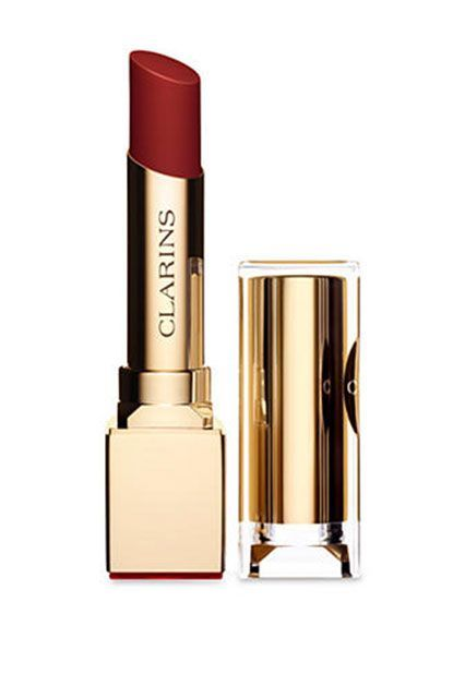 Clarins lipstick. See the best lipsticks for Fall 2015 >>> http://justbestylish.com/10-best-lipsticks-you-must-have-this-fall/