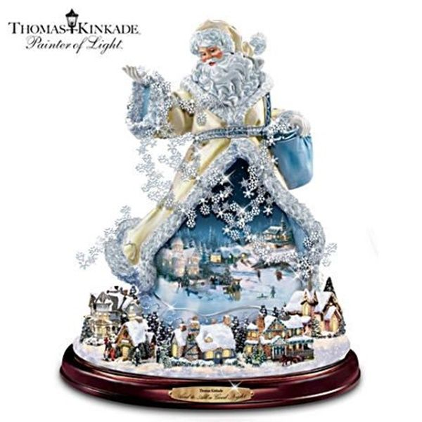 Hot new product added -  Thomas Kinkade Illuminated Rotating Musical Santa Claus - http://ponderosa.co/b1001/thomas-kinkade-illuminated-rotating-musical-santa-claus/