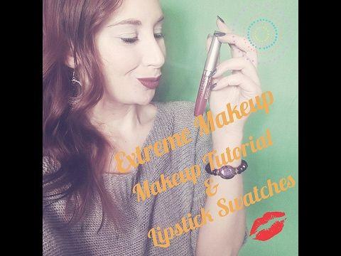 MAKEUP TUTORIAL con Extreme Make Up & Swatches  | I trucchi di Ela