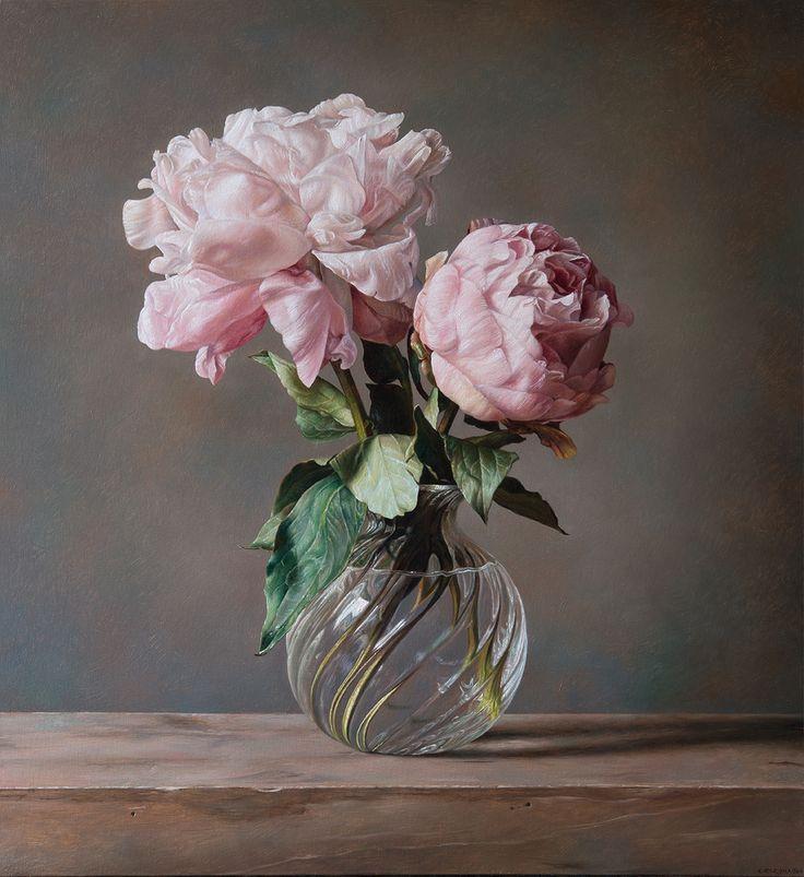 Gianluca Corona - Catharina Fontijin 2016 olio su tela cm 65x60