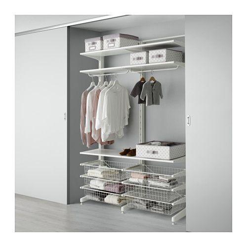 ALGOT Pcr/cşmtl IKEA Secţiunile din familia ALGOT pot fi combinate în multe moduri diferite pentru a se adapta nevoilor şi spaţiului.