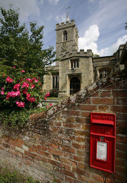 Village of Furneux Pelham, Hertfordshire, England