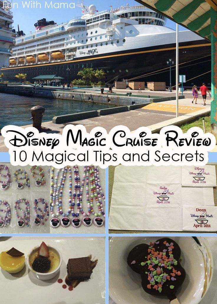 Disney Cruise Line Magic Ship Review with 10 magical tips and secrets to make your family vacation full of adventure and fun.