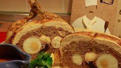 recetas de pollo relleno - YouTube