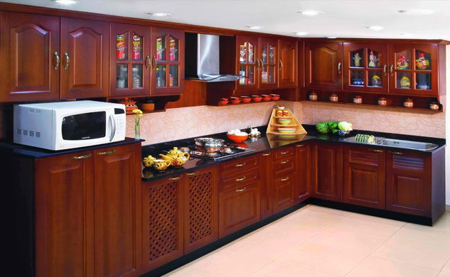 E Shaped Modular Kitchen Designer In Chandigarh