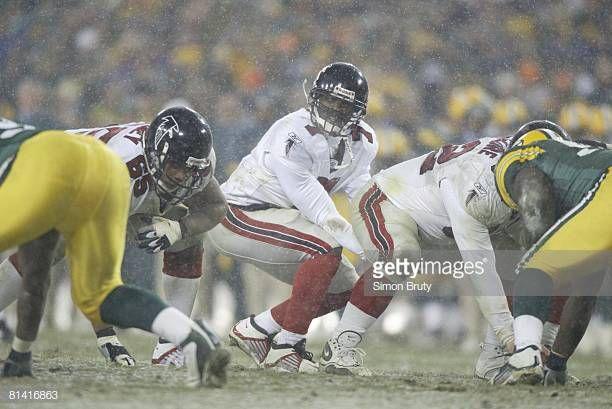 NFC playoffs, Atlanta Falcons QB Michael Vick in action vs Green Bay... | Michael  vick, Atlanta falcons, Nfc