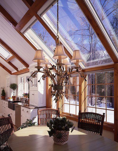 Yankee Barn Homes Gathering House ~ my favorite room!!