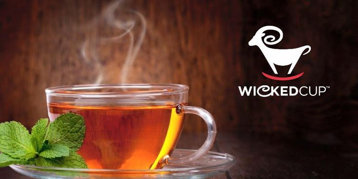 Nothing wrong with a little Tea Time in the afternoon! ‪#‎WickedCup‬