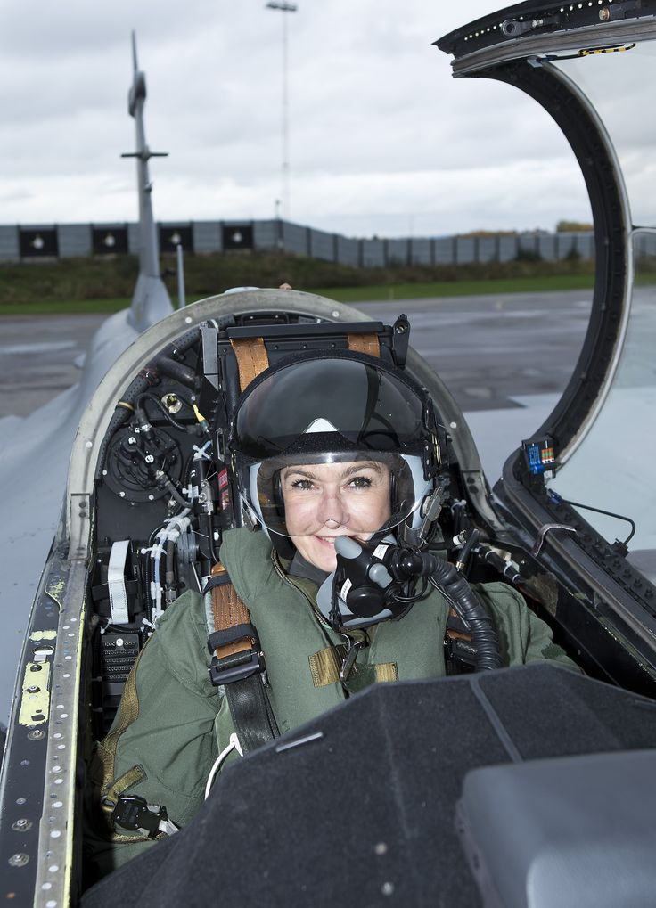 """""""It was an existential experience,"""" says Carina Brorman, Communications Director, Saab after flying the Gripen last week, reports Swedish magazine Resume.    Carina Brorman told the Resume that she flew the Gripen to increase her own understanding of the aircraft."""