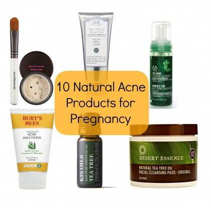 Natural Acne Products for Pregnancy | BabyZone