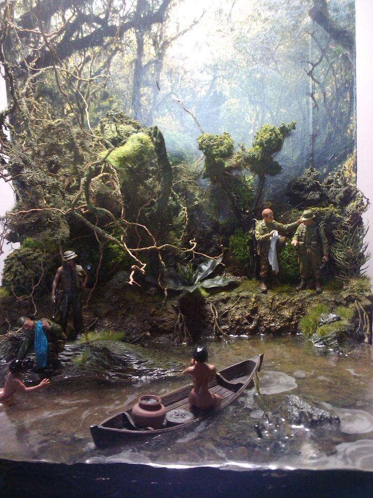 Nude swim 1/35 Scale Diorama | War Diorama | Diorama ...