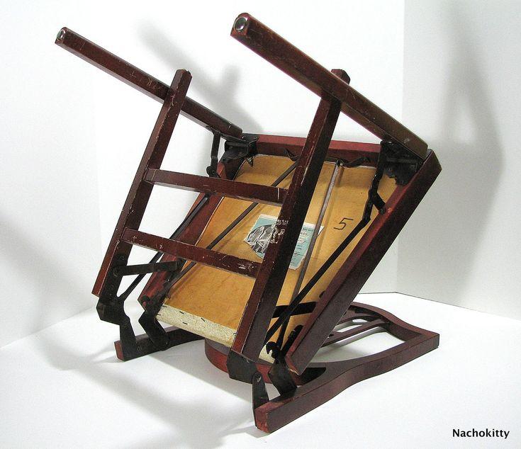 Airstream Chair Leg O Matic Vintage Folding Furniture