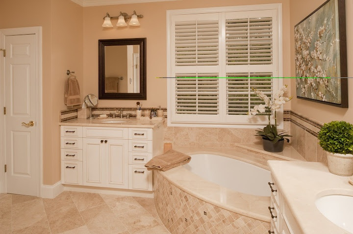 17 best images about living with a peachy pink bathroom on for Peach colored bathroom ideas