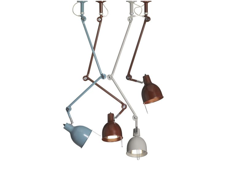 Lampada da soffitto orientabile in metallo verniciato PJ50 Collezione PJ by Örsjö Belysning | design Ann Morsing, Beban Nord