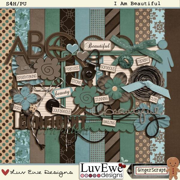I Am Beautiful~Luv Ewe Designs
