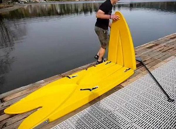Alley Designs Stand Up Paddle Boards : Portable and balanced stand up paddle board for easy