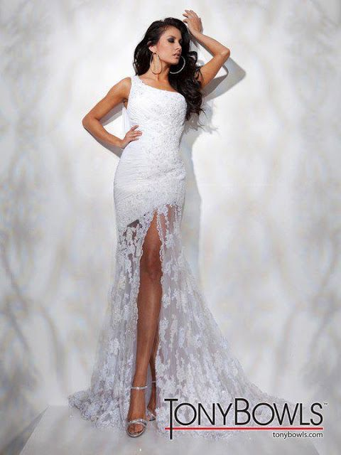 high low wedding gown.... Im back  and fourth on this dress... just want the perfect dress woth boots.