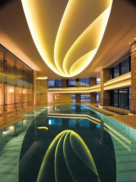 Interior Pool at The Peninsula Hotel, Tokyo