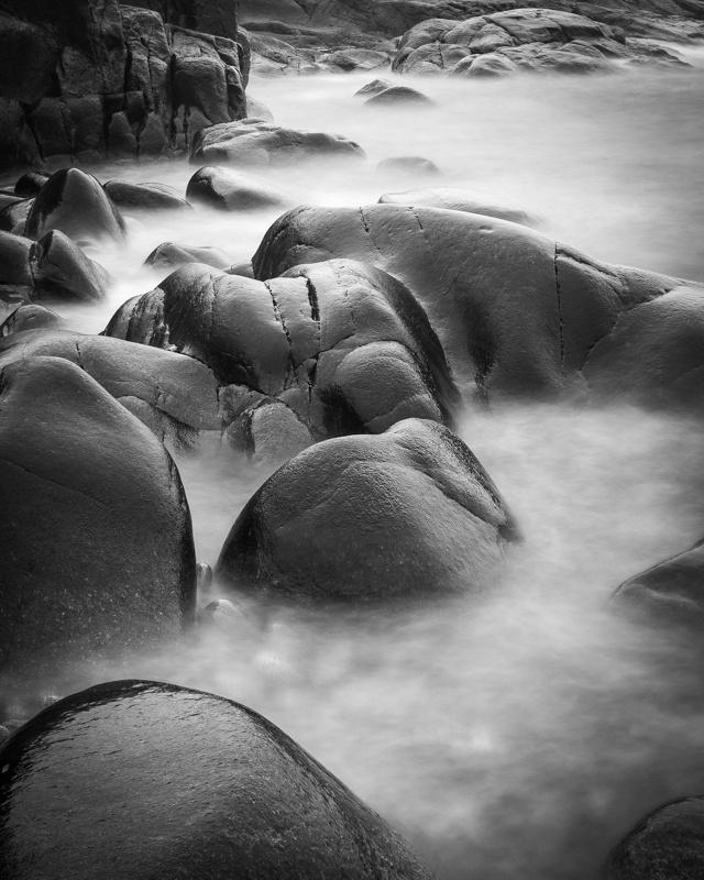 Black rocks #sweden