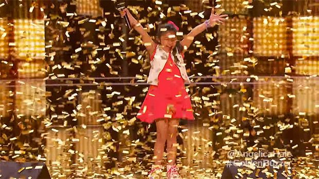 Angelica Hale, 9, Gets Golden Buzzer From Chris Hardwick After Breathtaking AGT Performance https://tmbw.news/angelica-hale-9-gets-golden-buzzer-from-chris-hardwick-after-breathtaking-agt-performance  What a sensation! Nine-year-old Anjelica Hale got the coveted golden buzzer from 'AGT' guest judge Chris Hardwick on July 18. We've got her breathtaking performance of Alicia Keys' 'Girl in Fire.'She's a little girl with a BIG voice! Nine-year-old Angelica Hale hit the stage for her second…