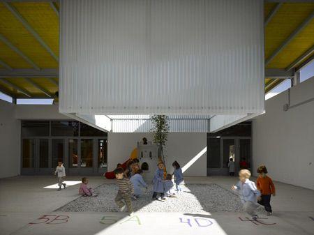 Infant Educational Centre Cullar Vega  by Solinas + Verd Arquitectos in Granada, Spain