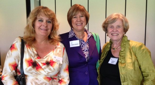 Barbara Colangelo, Dawn Graber & Barbara Hopton at the Sarasota Sister Cities Perpignan luncheon at SaraBay Country Club on November 4, 2013