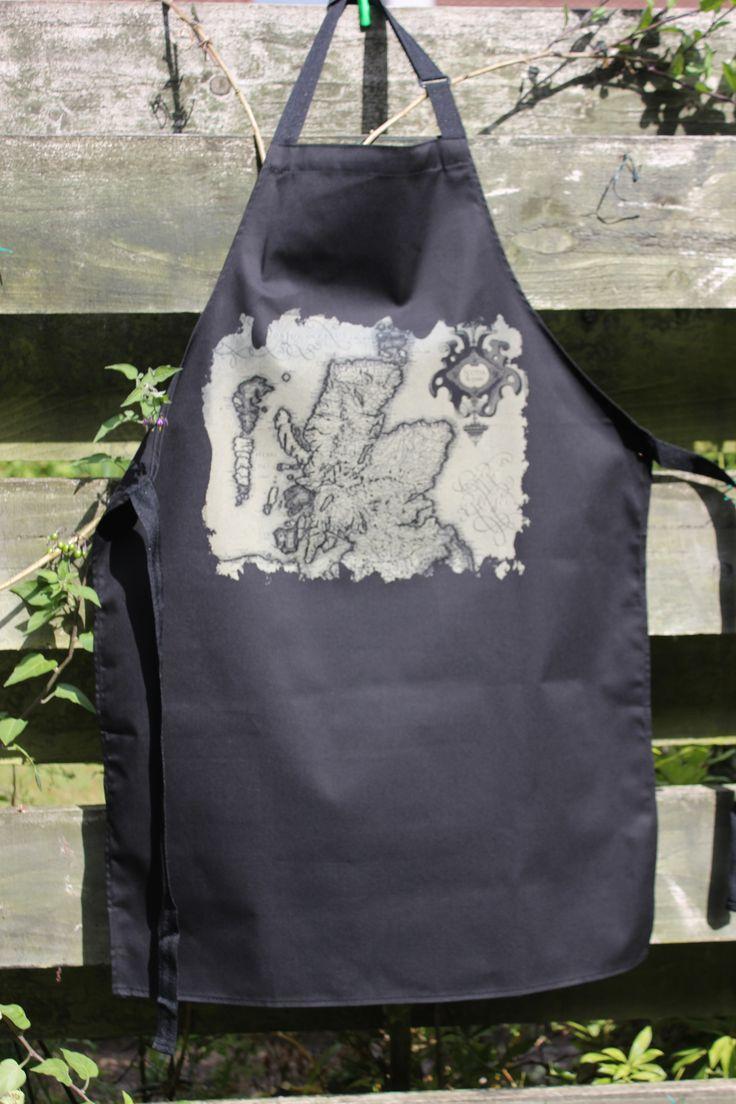 White tea apron -  22 15 A Classic Olde World Map Of Scotland Http Www Booth Ideasworld Mapswhitetea