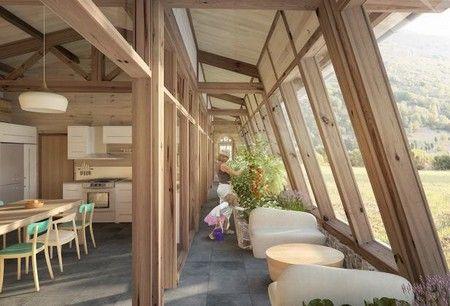 Reportage construction maison passive tanch it terrasse maison autonome maison - Reportage construction maison ...