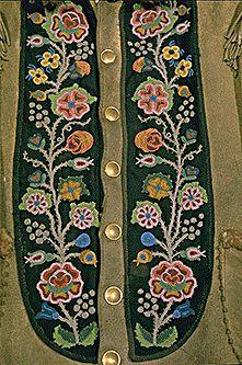 metis beadwork pattern