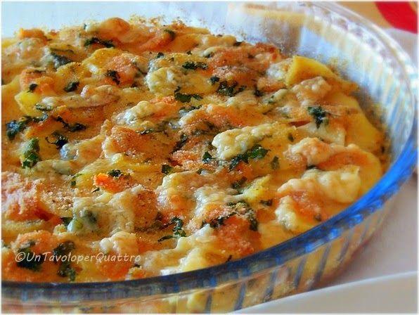 Un Tavolo per Quattro: Zucca e patate al forno