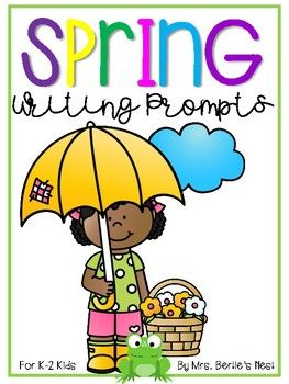 Spring is here! Get your little ones writing about it with these darling prompts.  Splashed with sweet clipart, children will be engaged and excited to share stories or observations of the new season.Perfect for:CentersMini-lessonsWriting LessonsScience/Seasonal ObservationsMorning WorkDownload the preview for a glimpse - I hope you find it useful for your little puddle-jumpers. :)Thank you,Kristi @ Mrs.