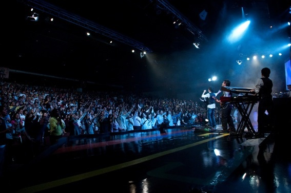 This is my church in Bogotá, Colombia - @supresenciaigle