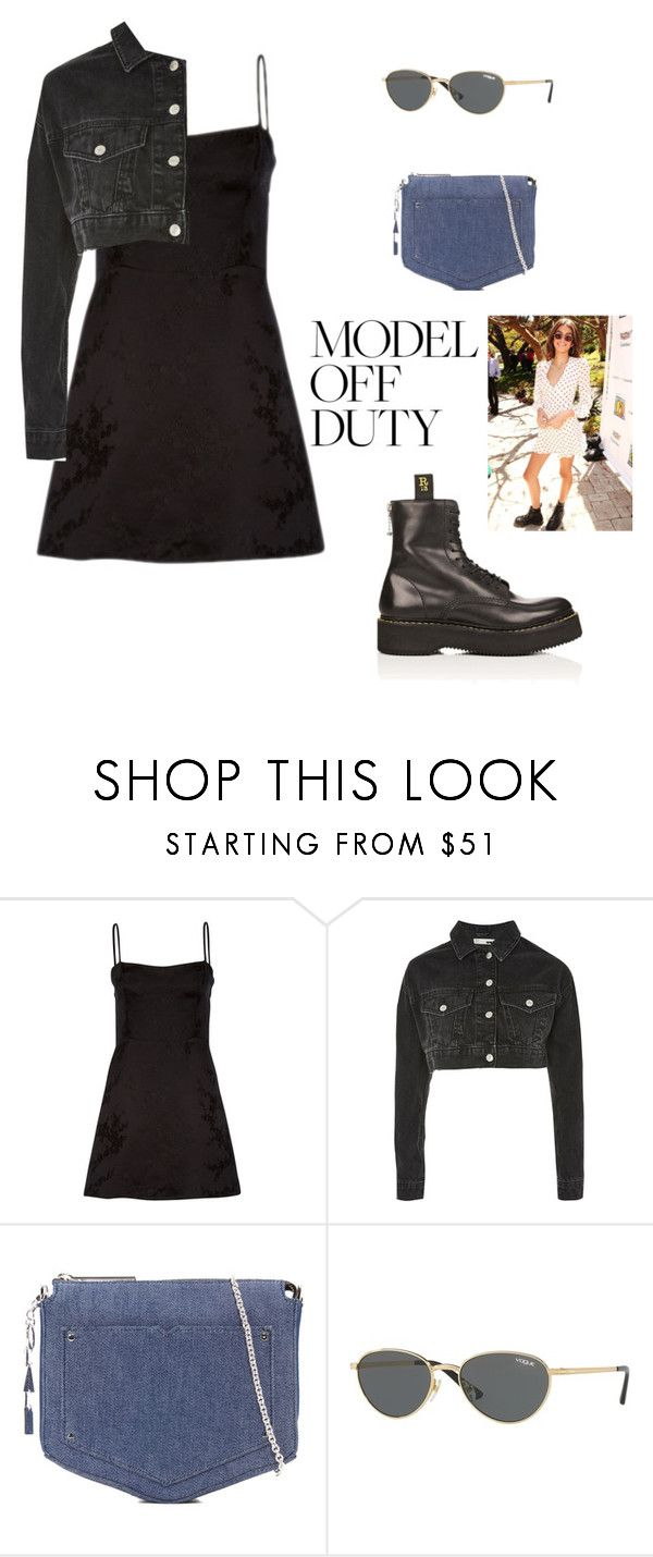 """""""Kaia Gerber"""" by cheapchicceleb ❤ liked on Polyvore featuring Shibuya, Topshop, Eddie Borgo, Vogue, R13, Gerber, CelebrityStyle, modeloffduty and KaiaGerber"""