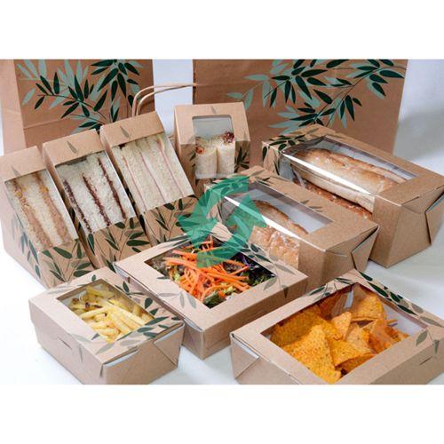 Envases de cartón reciclado para comida take away. http://www.usar-y-tirar.com/