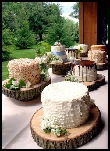 Dobry pomysł na słodki bufet na świeżym powietrzu :)