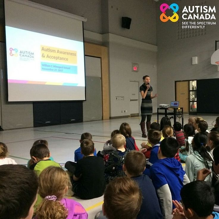 Last Wednesday we visited William C Winegard school in Guelph ON to talk with students in JK to grade 8. Students presented a thank-you speech during which they indicated that raising awareness and understanding for students with different abilities is the mark they want to leave on the community. Wonderful things are happening let's keep this momentum going.