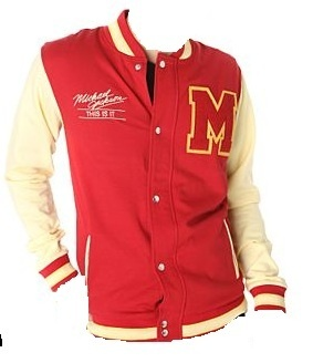 """Michael Jackson Limited Edition """"This is It Thriller"""" Varsity Jacket."""