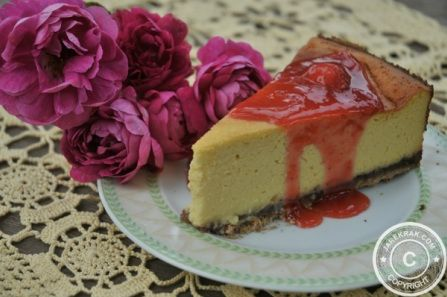 #Cosmos in the #Garden - #Rose Petals #Cheesecake #Recipe - #flowers #grardening #recipes
