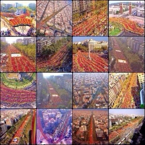 """""""Varcelona"""" incredible,astonishing and moving.September 11th 2014"""