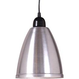 Colgante  1 Luz Aluminio Interior/Blanco Galponero | Easy
