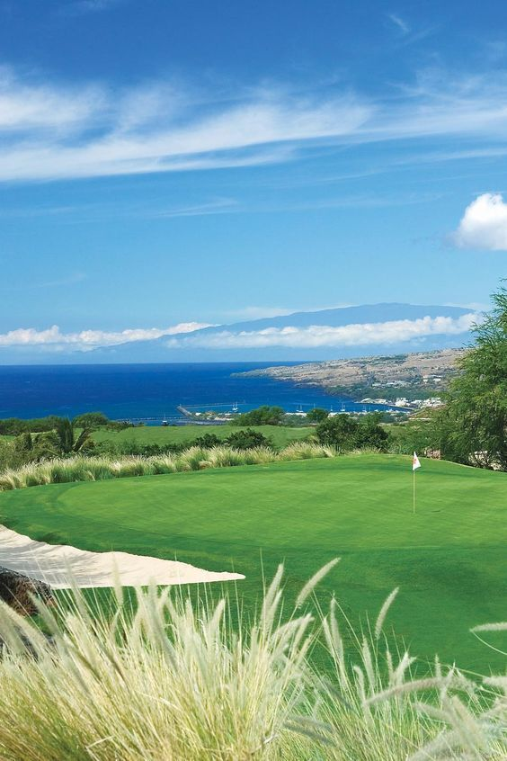 At The Golf Course Hapuna Beach Prince Hotel In Hawaii You Can See Pacific Ocean From Every Hole Golfcourseoftheday